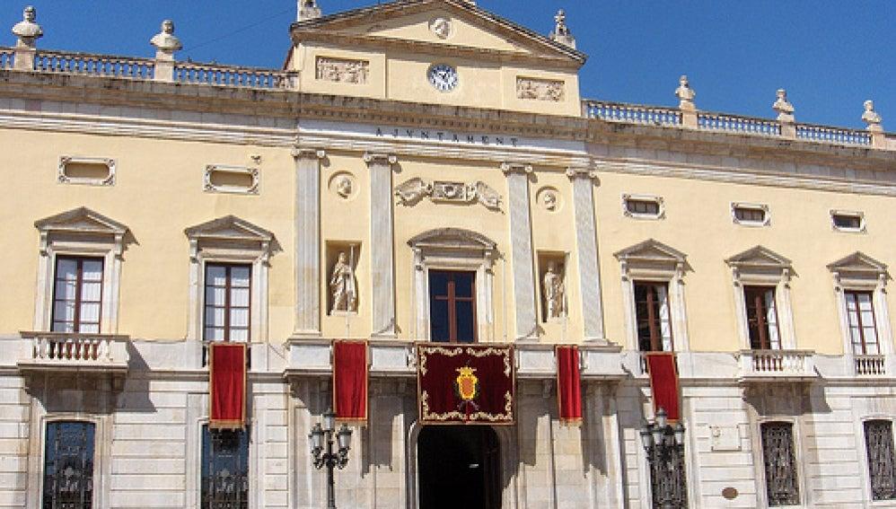 Fachada del ayuntamiento de Tarragona
