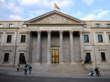 Congreso de los Diputados, en Madrid