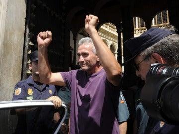 El dirigente del Sindicato Andaluz de Trabajadores (SAT) Diego Cañamero