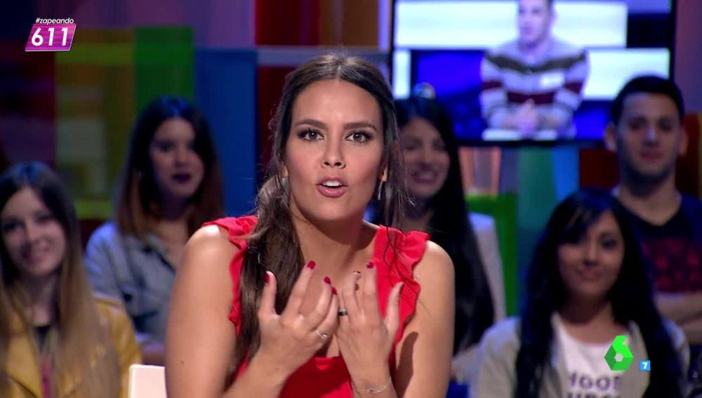 """Cristina Pedroche: """"Me van a gastar el apellido, ha sido como volver al colegio cuando me echaban la bronca en clase"""""""