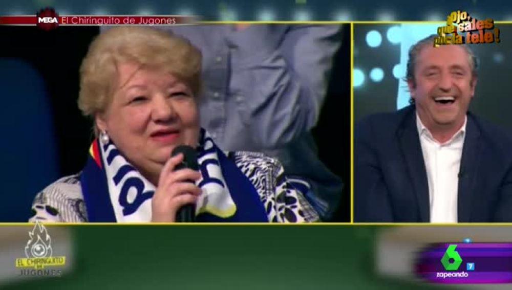 El ataque de risa de Josep Pedrerol por el lapsus de una espectadora