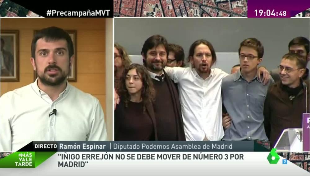 Ramón Espinar en MVT