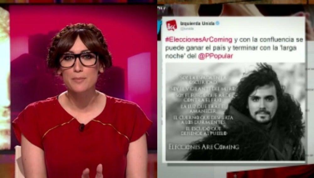 Anna Morgade sobre el nuevo cartel electoral de Garzón