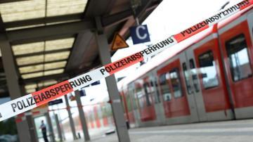 Un vagón de tren cerca de Múnich