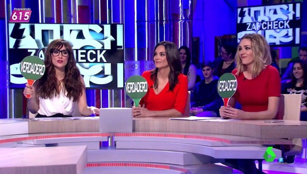 Monica Carrillo se atreve con el Zapcheck de Cristina Pedroche