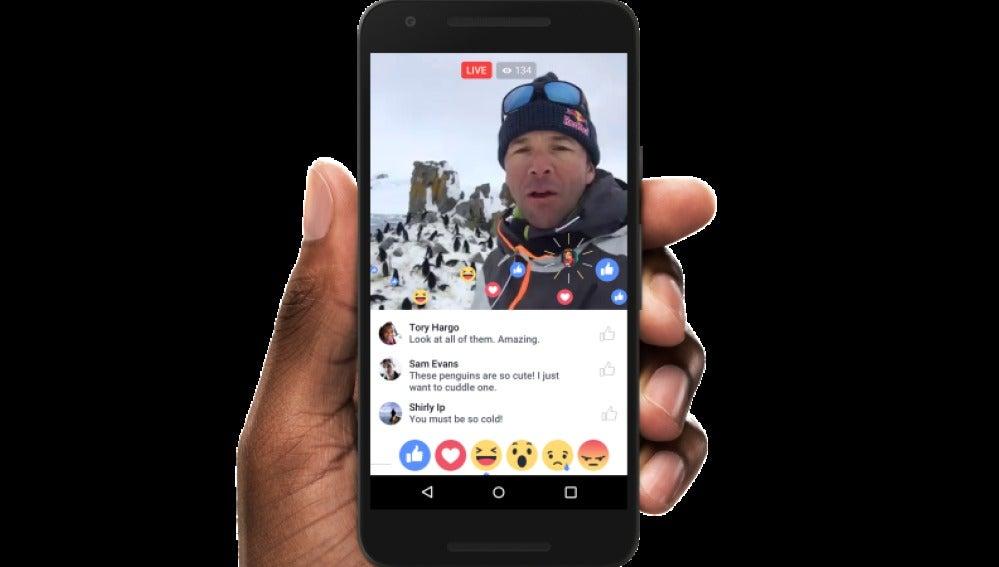 Trucos para emitir por Facebook Live