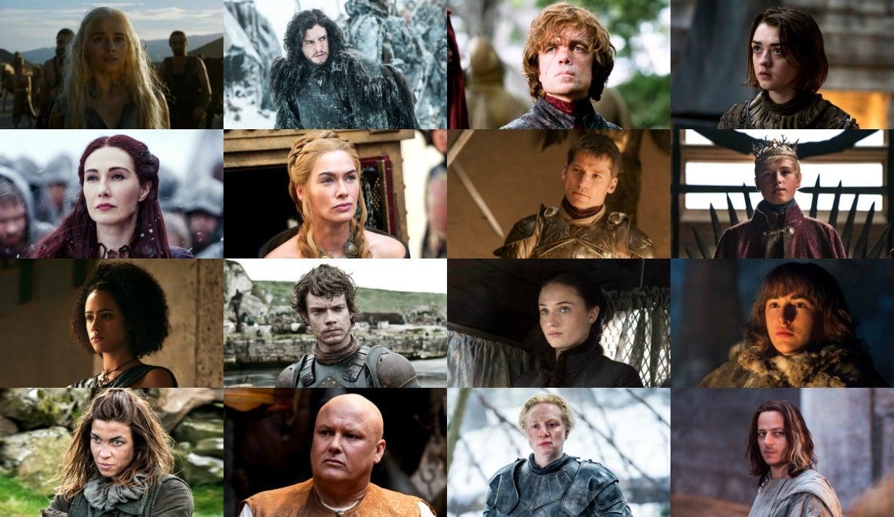 Personajes Juego de Tronos