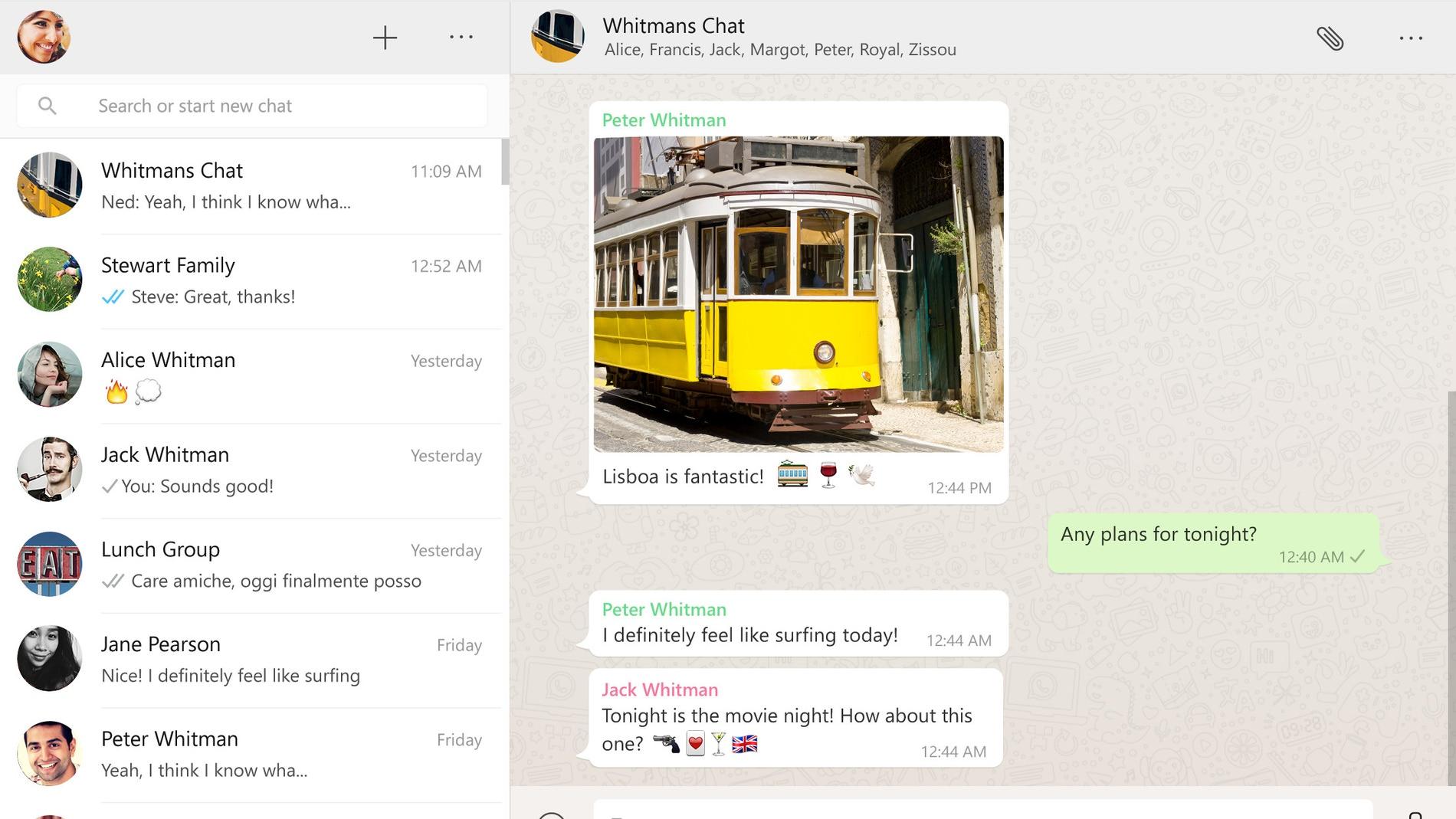 WhatsApp para Windows y Mac