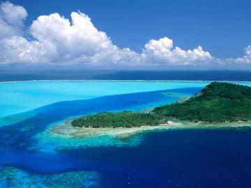 Imagen de una isla del Pacífico