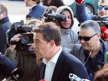 El ex secretario general del PSdeG, José Ramón Gómez Besteiro