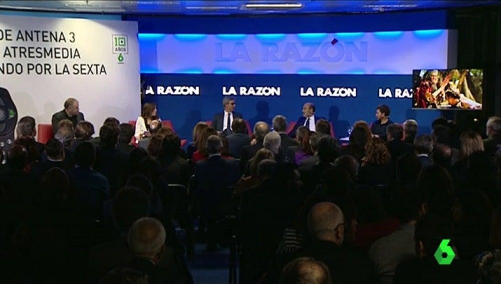 Presentación del libro 'de Antena 3 a Atresmedia pasando por La Sexta'