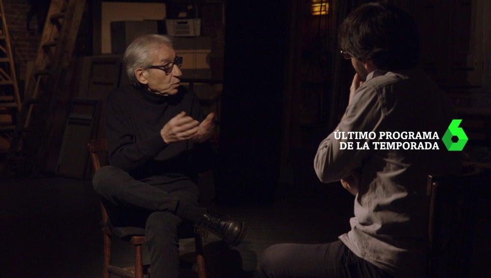 José Sacristán se somete a la entrevista de Jordi Évole en Salvados