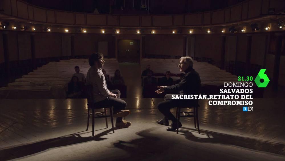 Jordi Évole entrevista a José Sacristán
