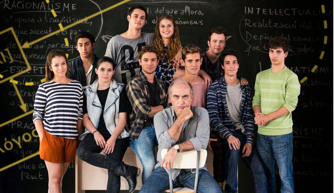 Merlí y sus alumnos