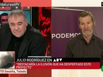 Julio Rodríguez en ARV