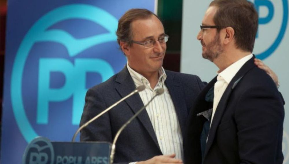 Alfonso Alonso y Javier Maroto