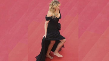 Julia Roberts descalza en Cannes