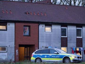 Albergue de refugiados en Alemania