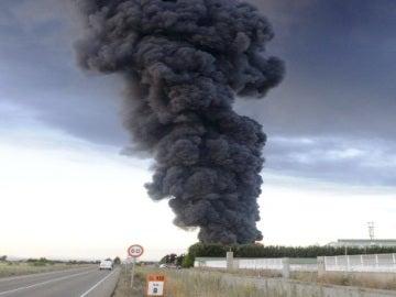 Incendio en Ardoncino, León