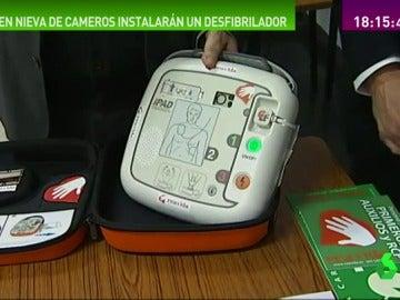 En Nieva de Cameros, con sólo 100 habitantes, instalarán un desfibrilador