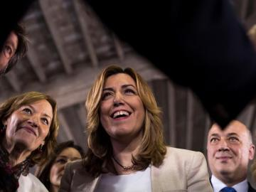 Susana Díaz, presidenta de Andalucía