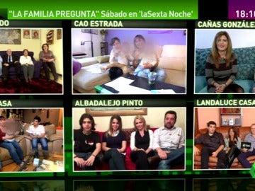 Frame 119.984126 de: Parados, homosexuales, jubilados… estas son las seis familias que representarán a la sociedad española