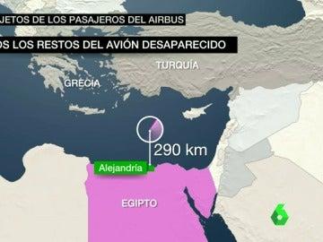 Hallan restos del avión desaparecido