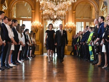 Bélgica rinde homenaje a las víctimas de los atentados del 22M