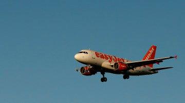 Un avión de la compañía EasyJet