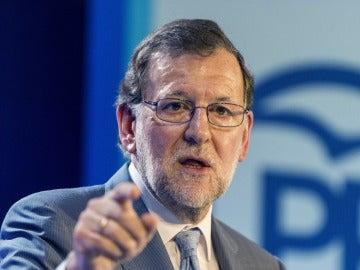 Mariano Rajoy, líder del Partido Popular