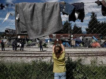 Campamento Idomeni