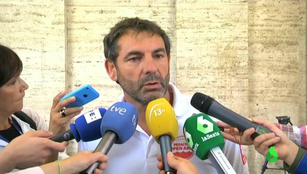 Óscar Camps, director de Proactiva Open Arms
