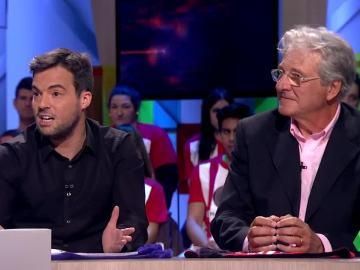 Los colaboradores de El Chiringuito Jorge D'Alessandro y Nacho Peña visitan Zapeando