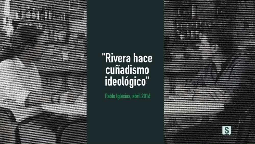 """Cartón vídeo """"Rivera hace cuñadismo ideológico"""""""
