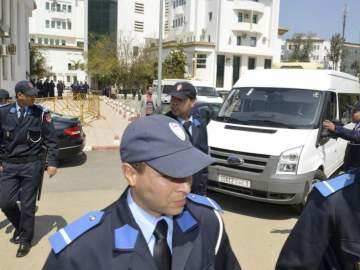 Policía marroquí
