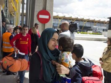Refugiados en España