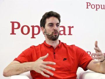 Pau Gasol, jugador de Baloncesto