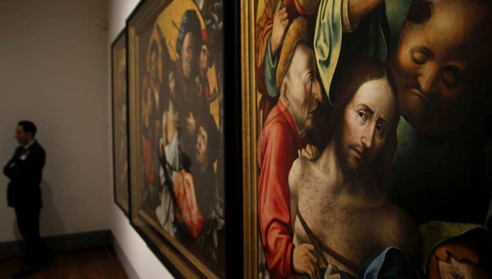 Tríptico con escenas de la Pasión de Cristo, de El Bosco