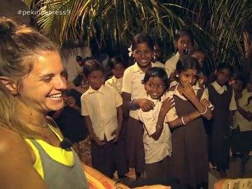 Marta y Giorgi en la India