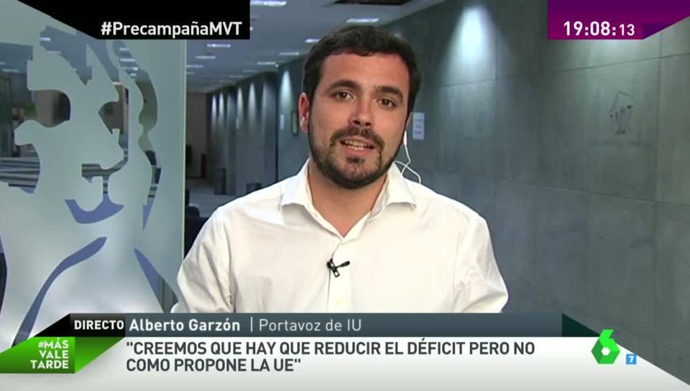 Alberto Garzón en MVT