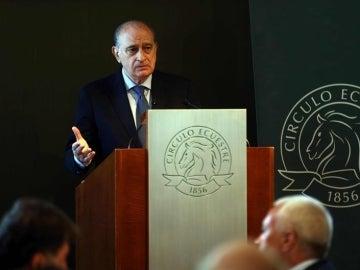 El ministro del Interior en funciones, Jorge Fernández Díaz