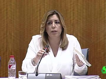 Susana Díaz, presidenta de la Junta de Andalucía