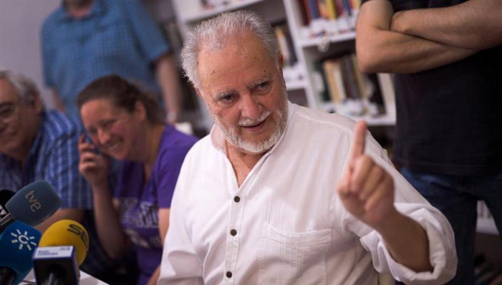 El excoordinador federal de IU Julio Anguita