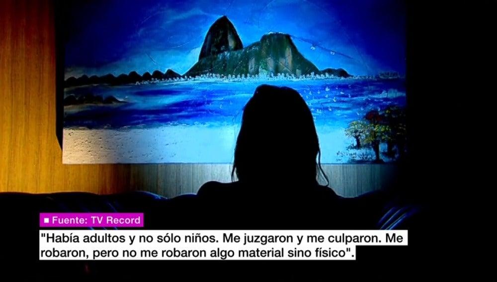 """Frame 35.438163 de: """"No duele el útero, duele el alma"""", las primeras palabras de la menor brasileña violada por 30 hombres"""