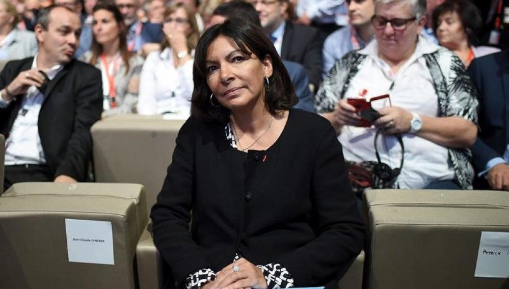 La alcaldesa de París, Anne Hidalgo