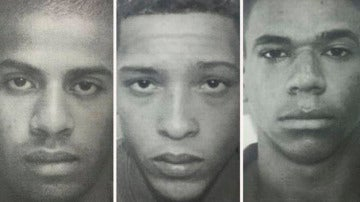 Imagen de los violadores de la joven brasileña