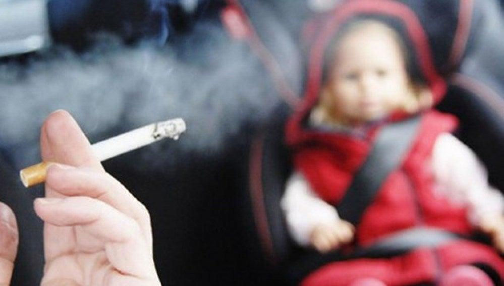 Tabaquismo pasivo infantil