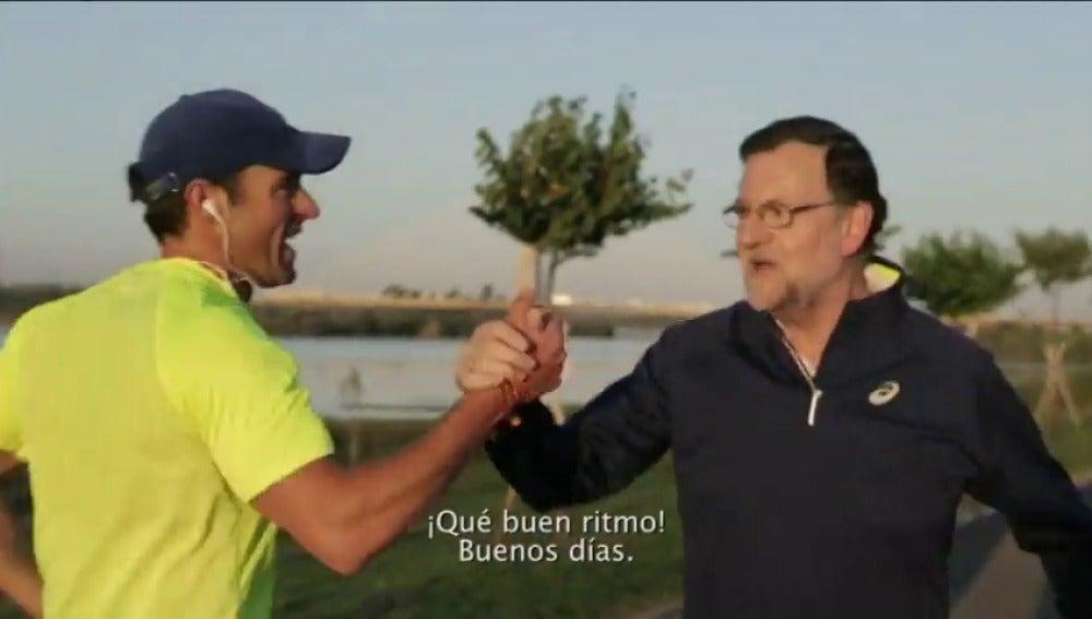 Frame 41.345684 de: Las caminatas de Rajoy al amanecer, el último reclamo del PP para atraer votantes