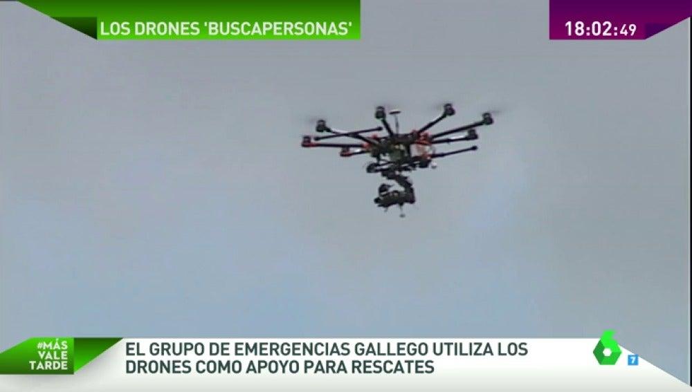 Drones 'buscapersonas'