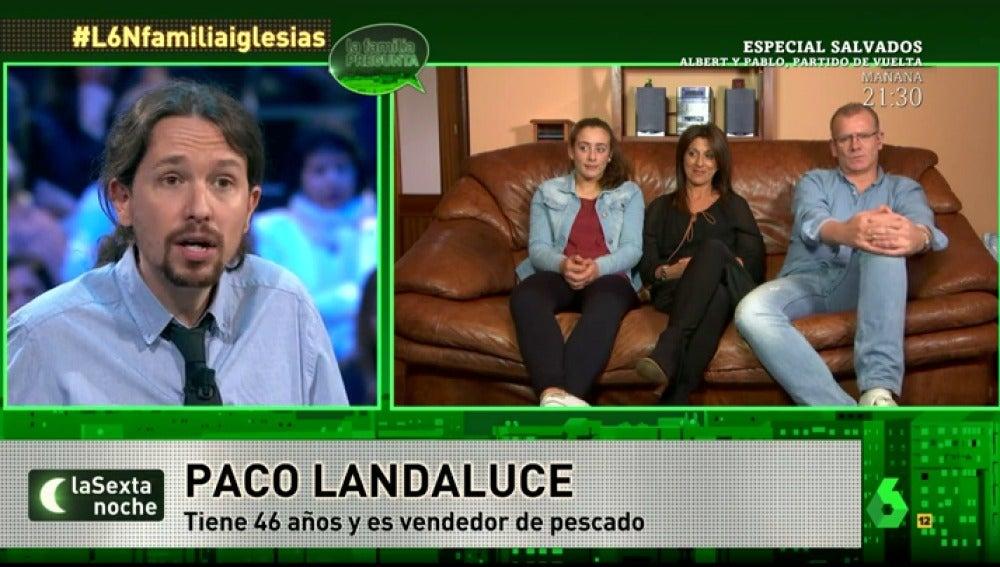 Iglesias contesta a los landaluce Casasaltas